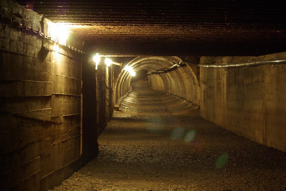 Tunel schronowy Strzyżów